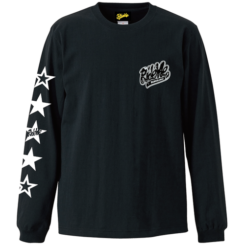 【RideMe | ライドミー】STAR LONG Tee(BLACK)