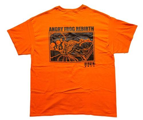 MINDWEAPON × ANGRY FROG REBIRTH T-shirts  Orange