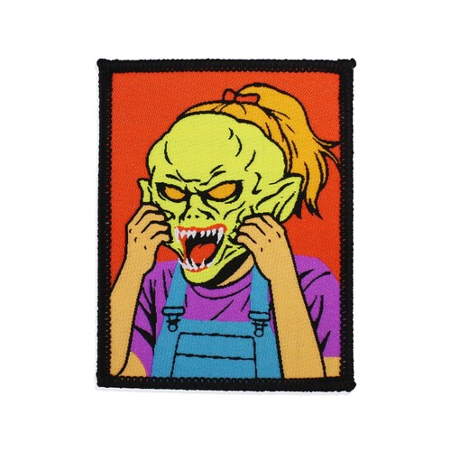 "Creepy Co.""GOOSEBUMPS® HAUNTED MASK PATCH"""