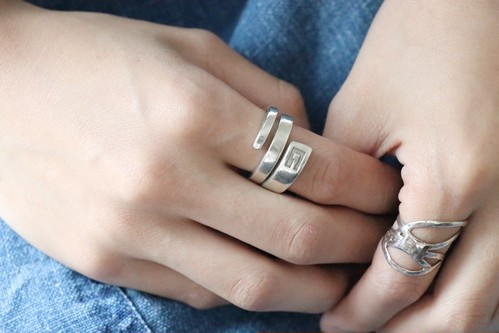 GUCCI silver ring