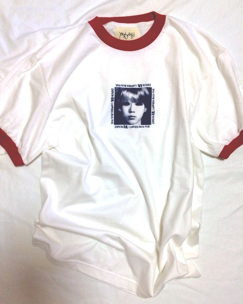 "yuukyouhi LONDON ""17才 TEE"" (REDトリム)"