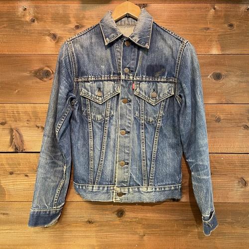 "60's~ Levi's 70505 BIG ""E"" Vintage Denim Jacket"