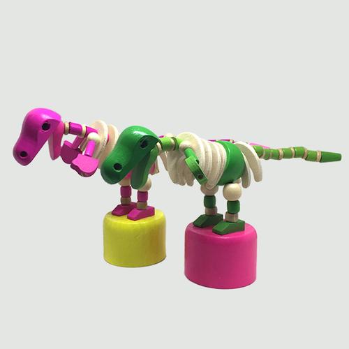 木製脱力人形 恐竜(ホネ)