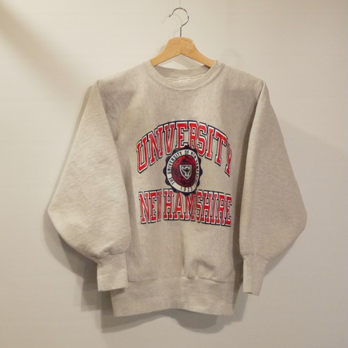 "Champion 1990's REVERSE WEAVE SizeM ""UNIVERSITY NEW HAMPSHIRE"""