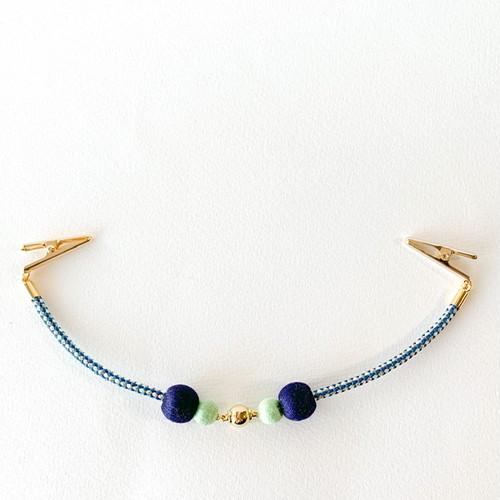 マグネットの羽織紐-紺-