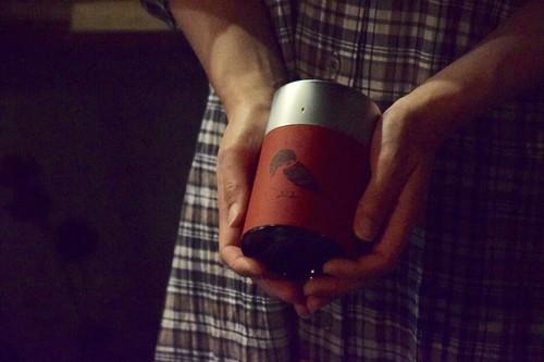 雀のコーヒー豆かん