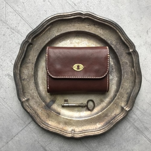 Morfeo Leather half-wallet / Brown