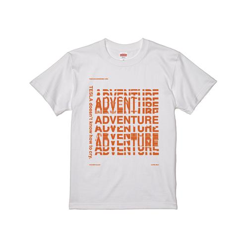 アドベンチャーTシャツ(ホワイト)※Lサイズのみ
