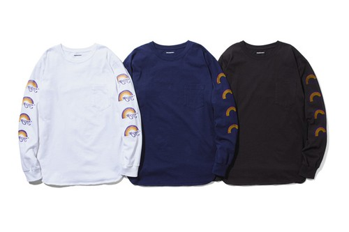 PIG & ROOSTER  RAINBOW DRIVE-IN LONGSLEEVE T
