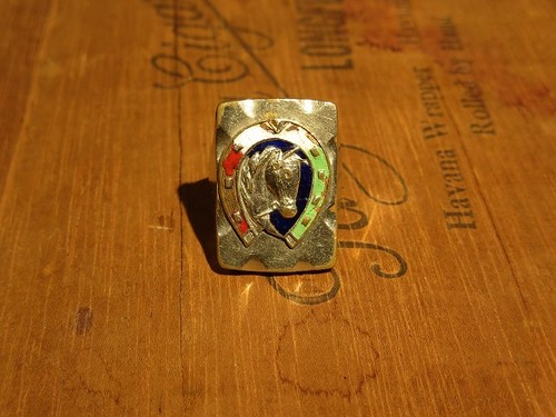 50's Horse Motif Mexican Ring