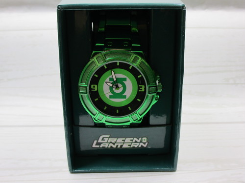 DC グリーンランタン 腕時計
