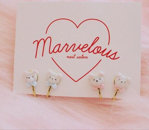 Marvelous marbear イヤリング
