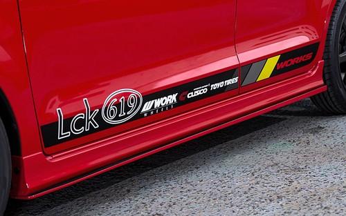Lck619 サイドディフューザー
