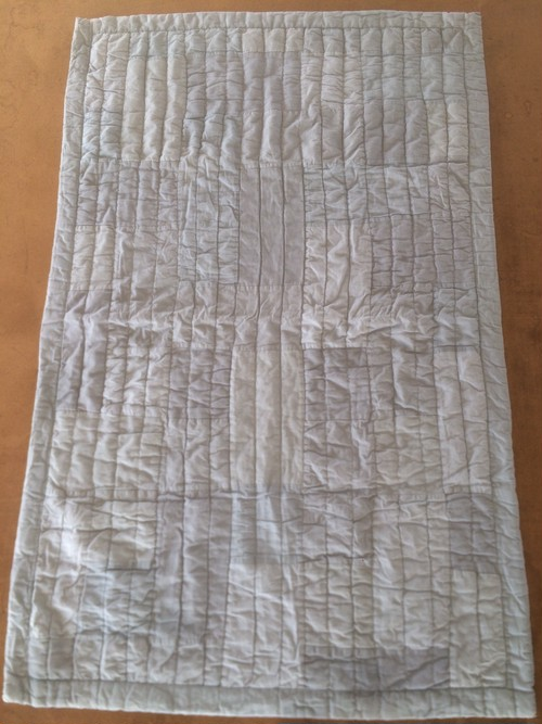 Patchwork Quilt Rug (gray)
