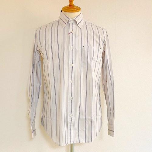 Dobby Stripe BD Shirts White