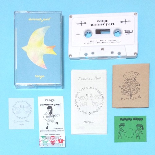 summer port 【cassette tape+liner notes 2set+seal+Digital Download 】