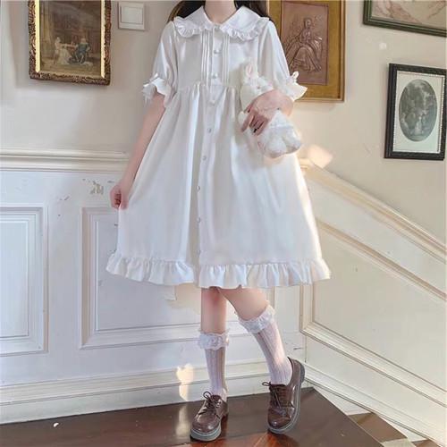 ロリィタ お人形さん ホワイト OP