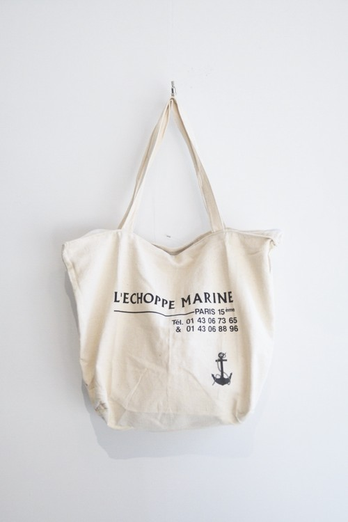 【MILITARY】90's FRENCH NAVY TOTE BAG
