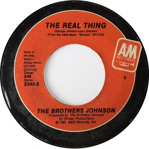 Brothers Johnson, ‎The – The Real Thing / I Want You