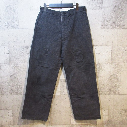 MULLER&BROS 16AW French Work Pants used