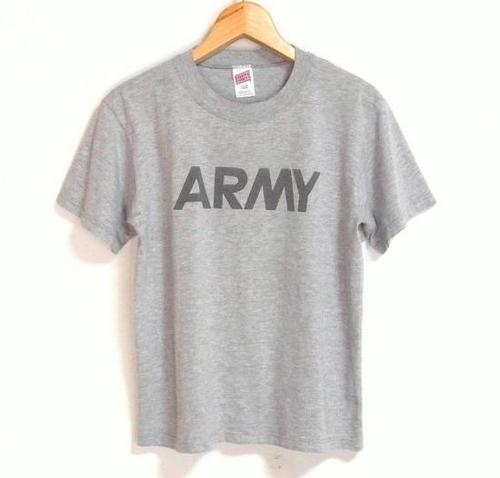 1990's U.S.ARMY リフレクタープリントTシャツ
