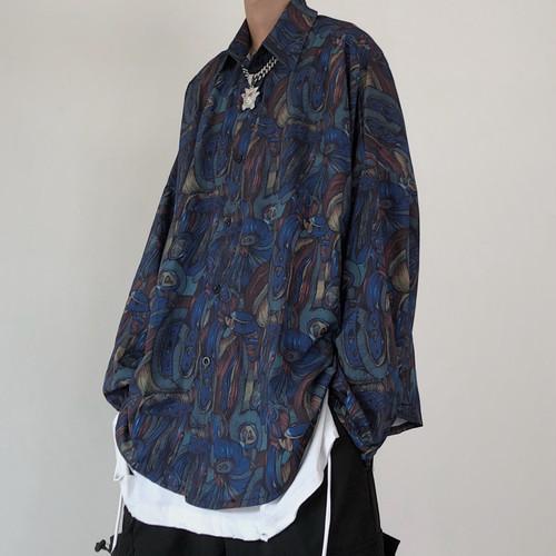 レトロアートシャツ BL6550