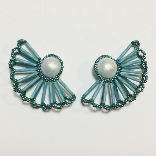 Pearl Lace Earrings(LLサイズ)