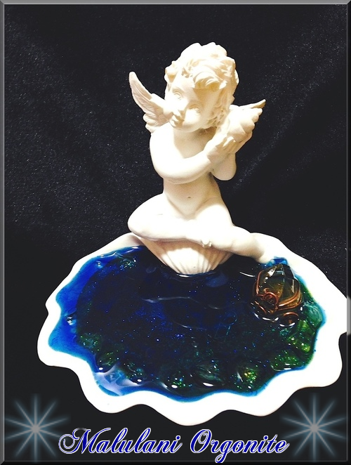 オルゴナイトインテリアオブジェ【天使の泉(エンジェルA)】