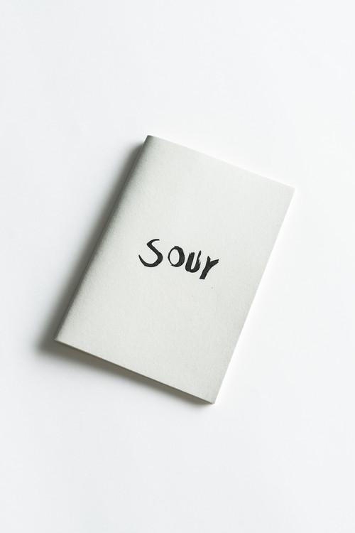 河内洋画材料店 × ygion Original Note Book 「サワーガーデン」