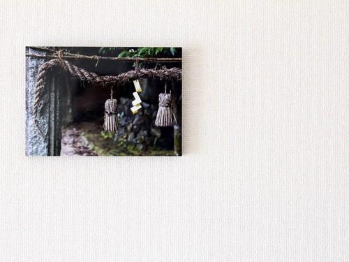 【A4サイズ相当】パネル写真:黄泉比良坂