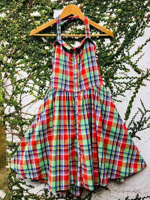 ラルフローレン Ralph Lauren ドレス ワンピース マドラスチェック RALPH LAUREN