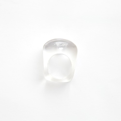 JUTIQU/Timeless Ring 3_10mm zirconia×1