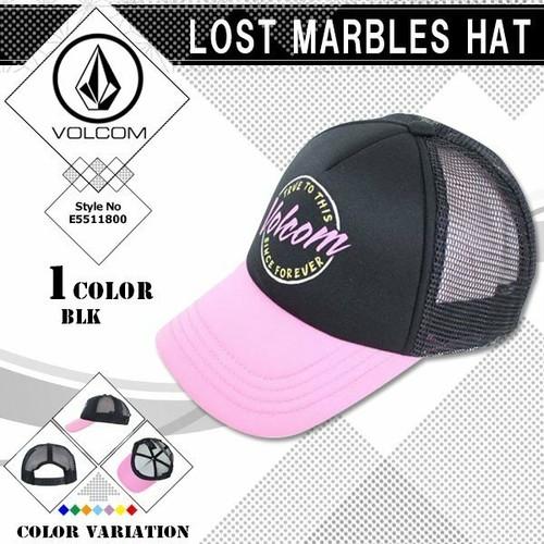 E5511800 ボルコム キャップ レディース 帽子 おすすめ プレゼント 人気ブランド メッシュ サイズ調整可 LOST MARBLES HAT VOLCOM