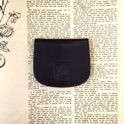 CELINE leather coin case