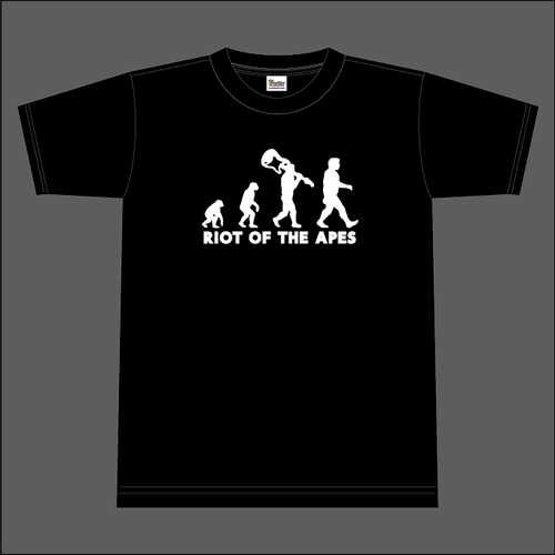 RIOT OF THE APES ロゴTシャツ