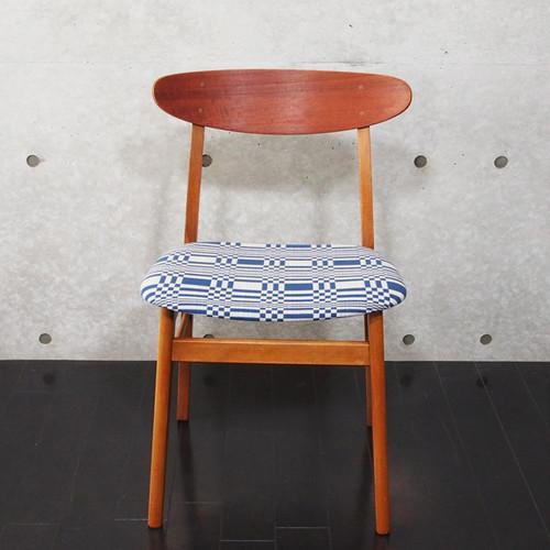 北欧ヴィンテージ家具 Chair Johanna Gullichsen Doris Dark Blue 2