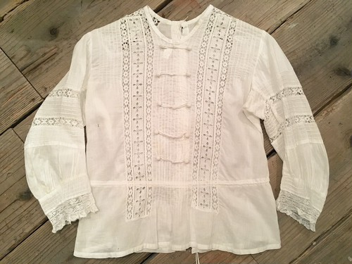 french vintage blouse