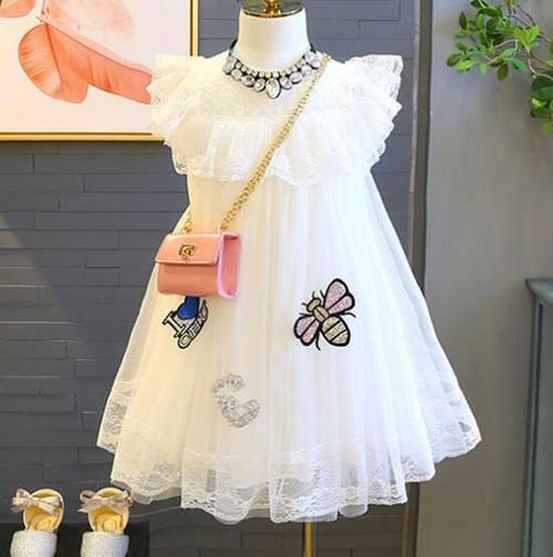 8428子供ドレス キッズ ベビー ジュニア 女の子ドレス フォーマルドレス ワンピース 参考身長100-130cm
