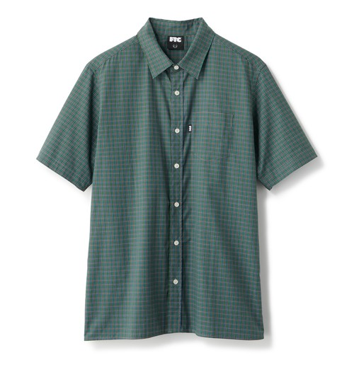 FTC / PLAID SHIRT -GREEN-