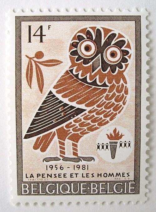 ふくろう / ベルギー 1981