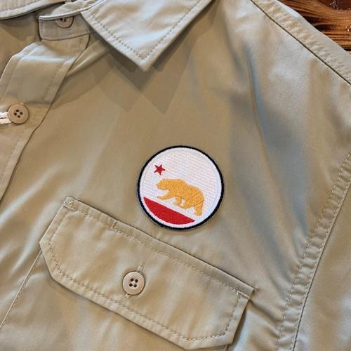 PATCHIES【ワッペン】 カリフォルニア ワークシャツ