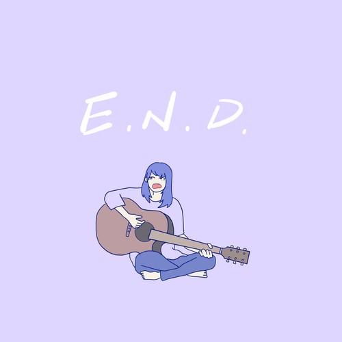"""さかいかの """"E.N.D"""" CD 3曲収録(サイン入り)いわき市発弾き語り"""