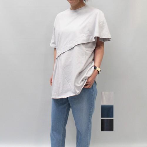 FLORENT(フローレント) Cotton Short-Sleeve Top 2021春物新作[送料無料]