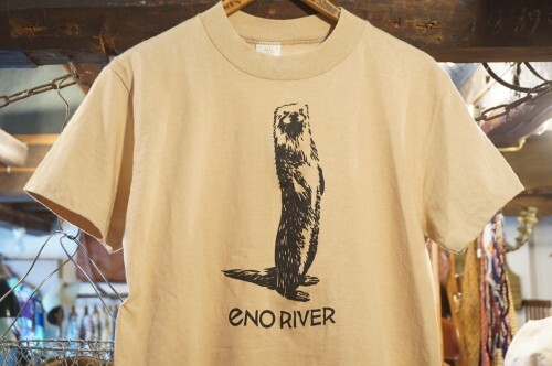 80's otter printed cotton Tee