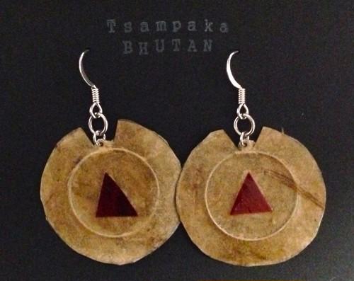 ブータンの唐辛子『エマ』のピアス