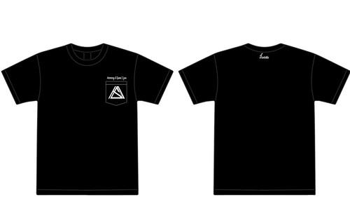 """Harmony & Speed 2 you""pocket T-shirt ブラック"