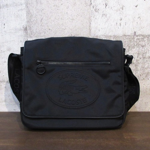 SUPREME × LACOSTE 19AW Small Messenger Bag