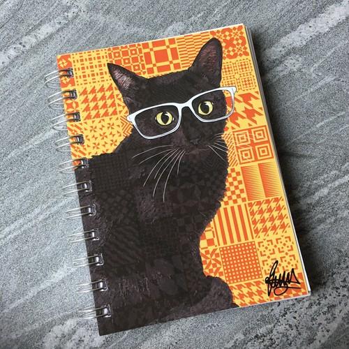 Rose Hill ノート(small:黒猫)