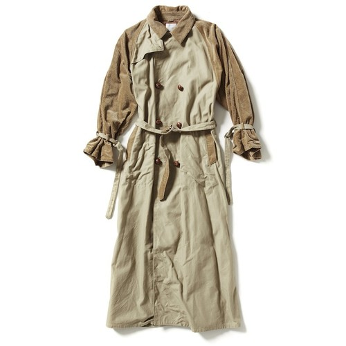 【FILL THE BILL】TRENCH LONG COAT 《WOMENS》- BEIGE