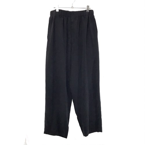 Y'S  FOR MEN EASY WAIST WIDE TROUSERS